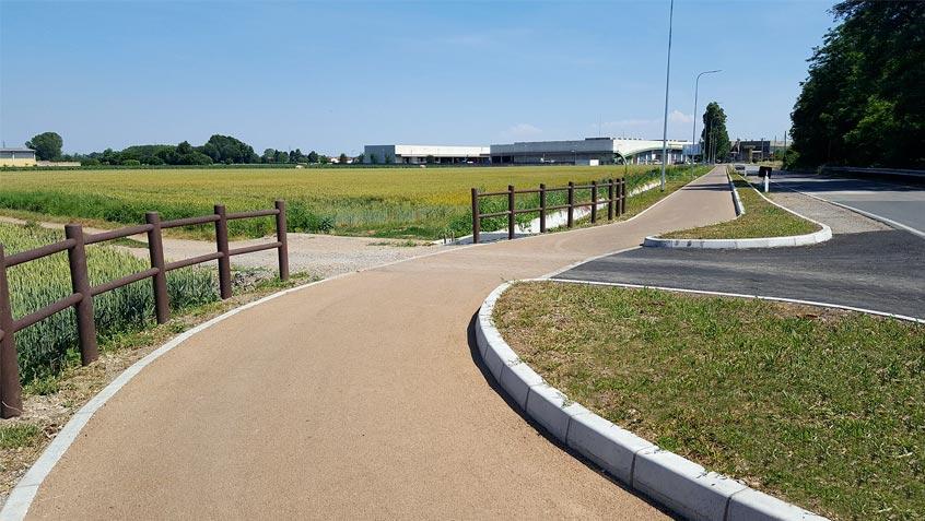 Cycle path Corbetta – Milan