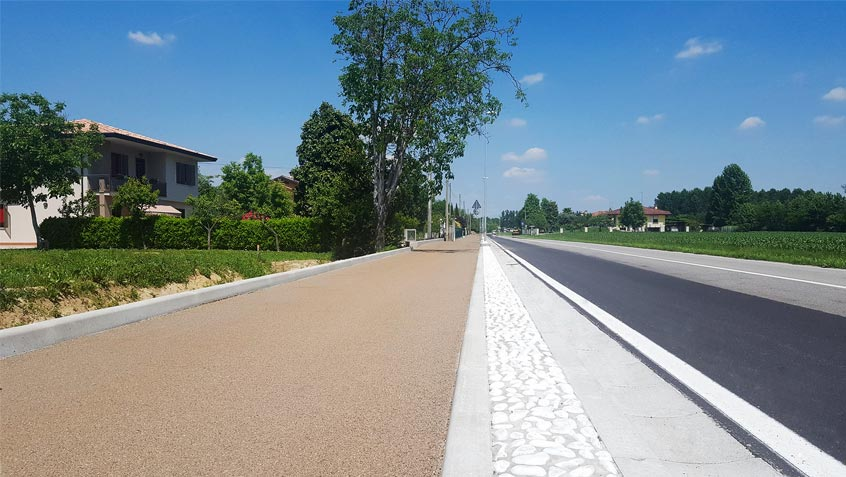Cycle path Morgano – Treviso