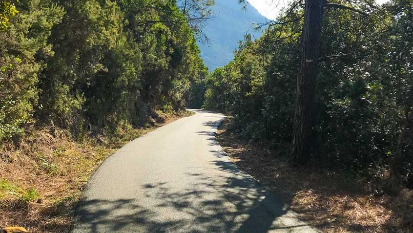 """Le Castagnole"" path adjacent to the park of ""Le Cinque Terre"" – Deiva Marina – Genova"