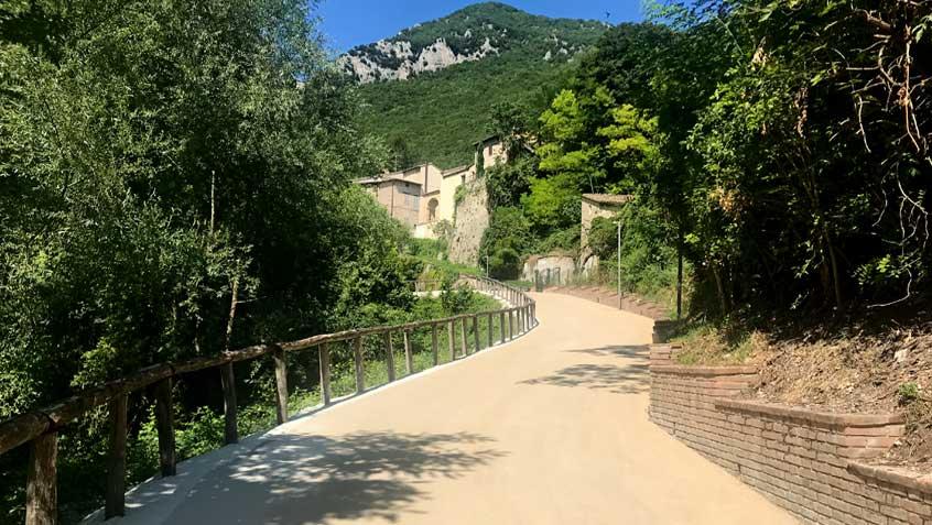 """""""Portella"""" road – Esanatoglia MC"""