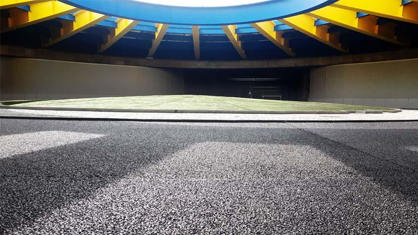 Roundabout Subway Lingotto - Turin
