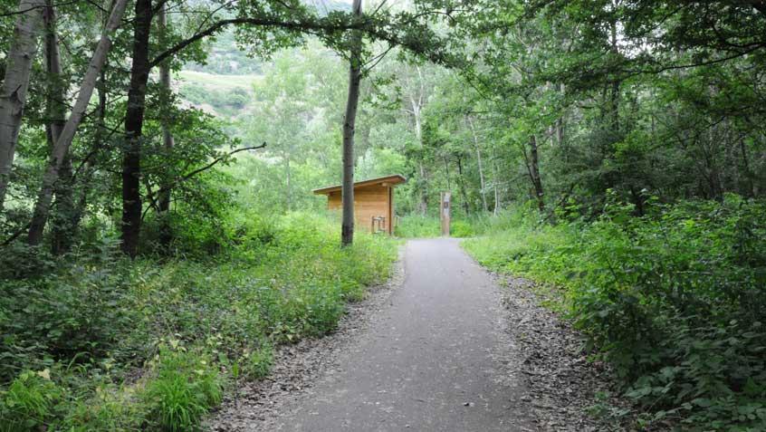 Sentieri nel parco di Lillaz – Aosta