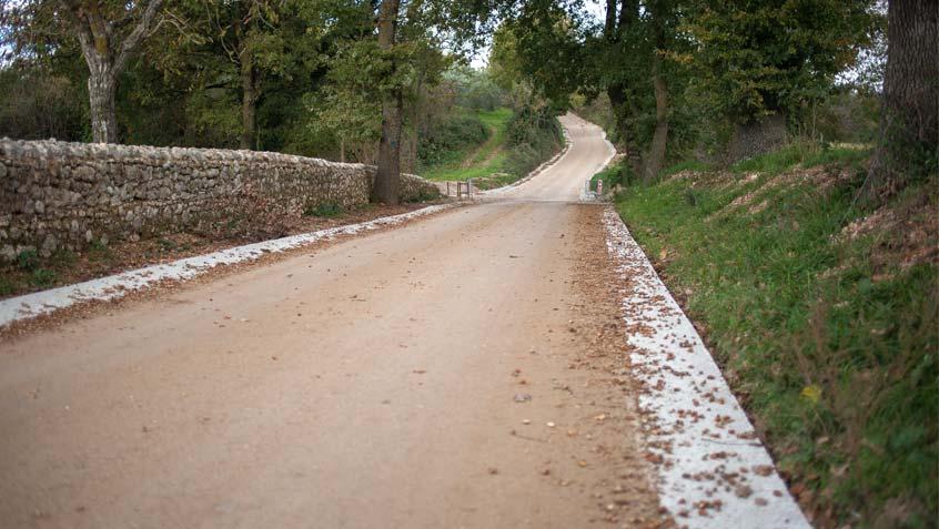 "Strada ""Vecchia Flaminia"" – Massa Martana – Perugia"