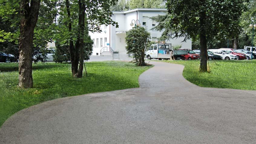 Vialetti Parco del Sile c/o azienda ospedaliera (USL9) – Treviso